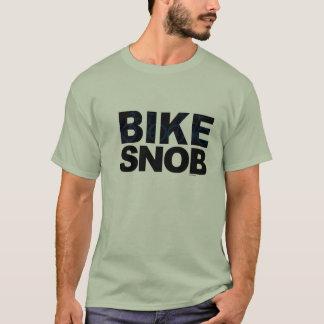 De Snob van de fiets/fietssnob - blauw T Shirt