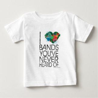 De snob van de Muziek Baby T Shirts