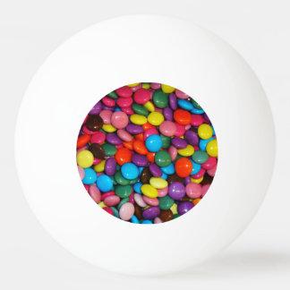 De snoep ingesloten choclate Sjabloon van de Pingpongballen