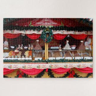 De Snoepjes van de amandel bij de Markt van Legpuzzel
