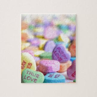 De snoepjes van de liefde legpuzzel