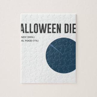 De Snoepjes van het Dieet van Halloween behandelen Puzzel