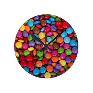 De Snoepjes van het Snoep van de chocolade Ronde Klok