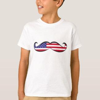 De Snor van de Vlag van Verenigde Staten T Shirt