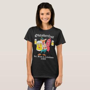 De Snotapen & Lederhosen van het Bier van T Shirt
