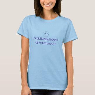 De sociale Deskundigen van Media zo echt zoals T Shirt