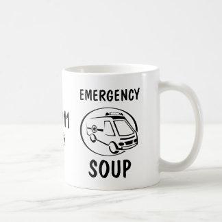 De Soep van de noodsituatie Koffiemok