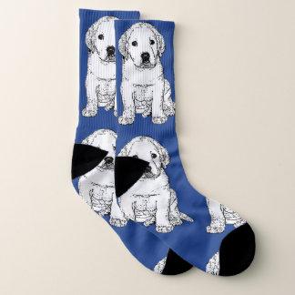 De sokken van de het puppyhond van de labrador
