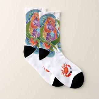 De sokken van de Otters van het Zee BINDI - kies
