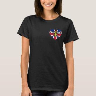 De Solidariteit van de Bij van Manchester en van T Shirt