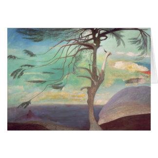 De solitaire Ceder, 1907 Kaart