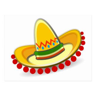 De Sombrero van Cinco DE Mayo Briefkaart