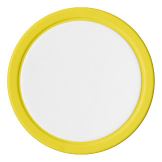 De Spaanders van de pook met Gele Stevige Rand Pokerchips