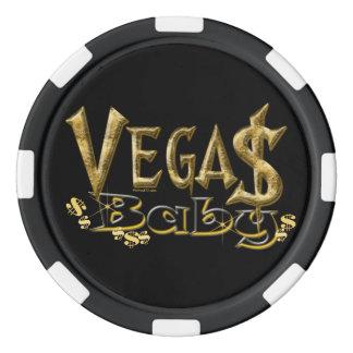 De Spaanders van de Pook van het Baby van Vegas Pokerchips