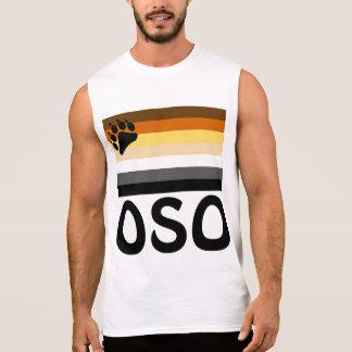 De Spaanse (Oso) Homosexueel draagt de Vlag van de T Shirt