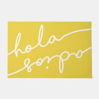 De Spaanse Typografie van Adios van Hola - pluk Uw Deurmat