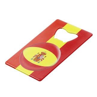 De Spaanse Vlag van Spanje Creditkaart Flessenopener