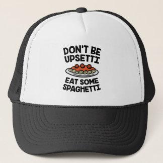 De Spaghetti van Upsetti Trucker Pet