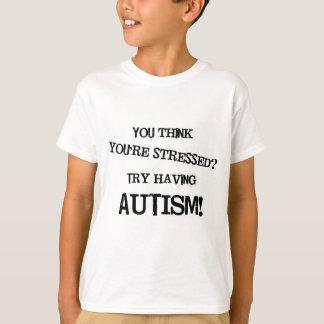 De Spanning van het autisme T Shirt