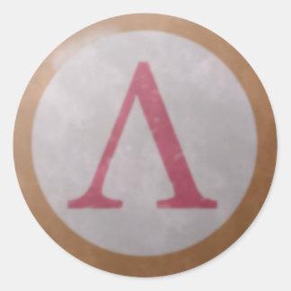 De Spartaanse Sticker van het Schild
