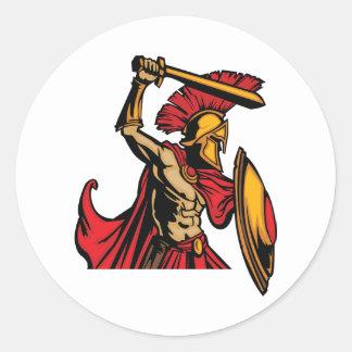 De Spartaanse Stickers van de Strijder