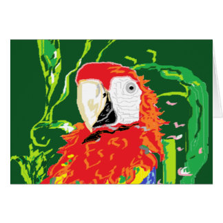De Spatie van de Kaart van de nota binnen /Parrot