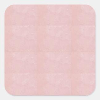 De Spatie van de sjabloon voegt uw elegant Kristal Vierkante Sticker