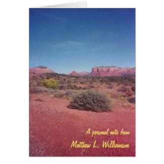 De Spatie van het Uitzicht van de woestijn Kaart