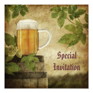 De speciale Uitnodiging van het Bier