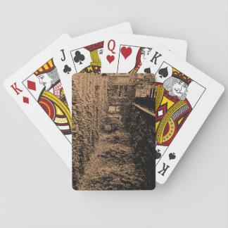 De speelkaarten - de Scène van de Baksteen & van
