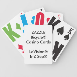 De Speelkaarten LoVision® van het Casino van Pak Kaarten