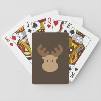 De Speelkaarten van Amerikaanse elanden