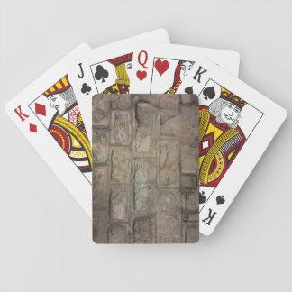 De Speelkaarten van de baksteen, de