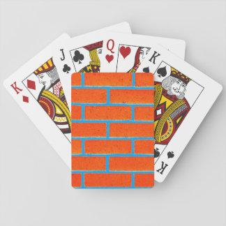 De Speelkaarten van de Bakstenen muur