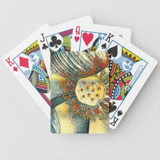 De speelkaarten van de Bloem van Lotus Pak Kaarten