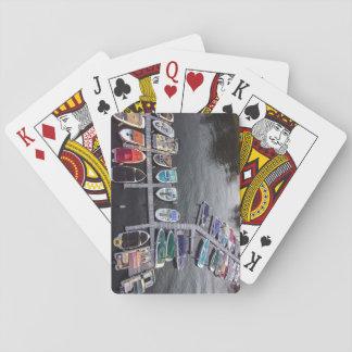 De Speelkaarten van de boot