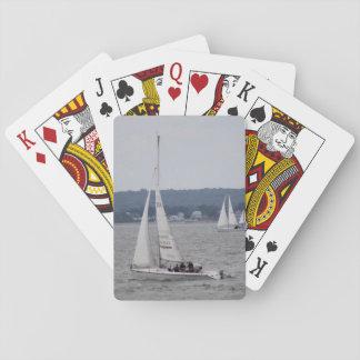 De Speelkaarten van de Boot van het zeil