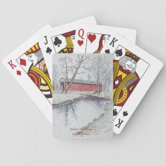 De Speelkaarten van de Brug van het Park van het