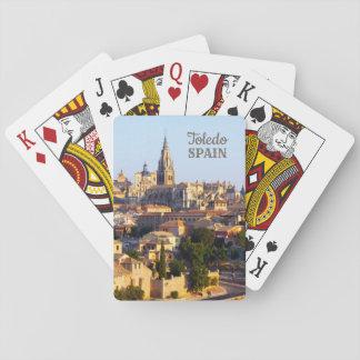De speelkaarten van de de douanetekst van Toledo