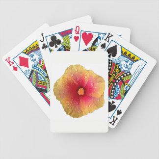 De Speelkaarten van de Fiets van de hibiscus Poker Kaarten