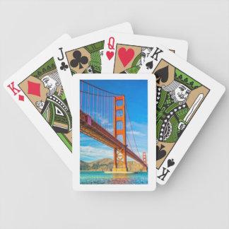 De Speelkaarten van de Fiets van golden gate Pak Kaarten