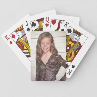 De speelkaarten van de foto