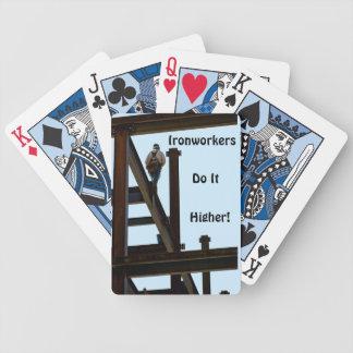 De Speelkaarten van de ijzerbewerker Poker Kaarten