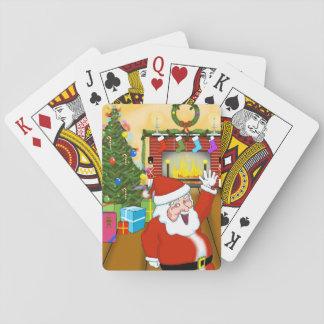 De Speelkaarten van de kerstavond