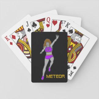 De Speelkaarten van de meteoor