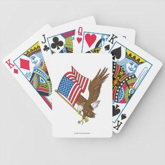 De Speelkaarten van de patriot Pak Kaarten
