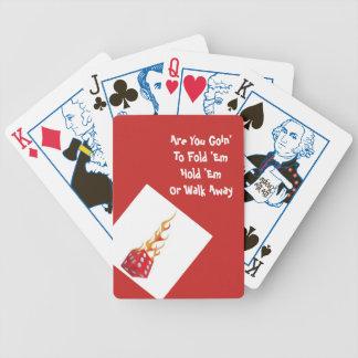 De Speelkaarten van de pook Bicycle Speelkaarten