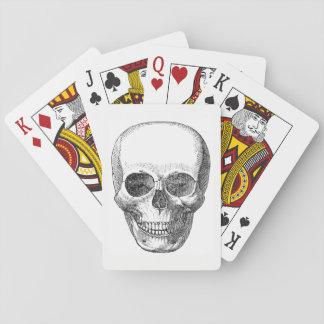 De Speelkaarten van de schedel