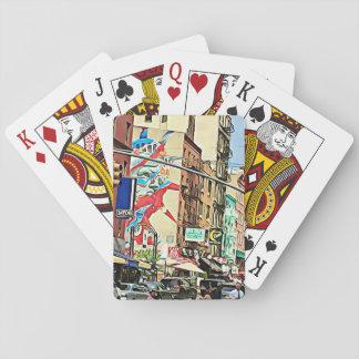 De Speelkaarten van de Stad van New York van de