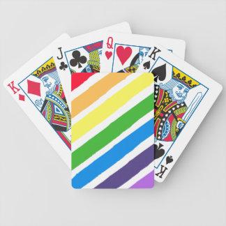 De Speelkaarten van de Verf van de regenboog Poker Kaarten
